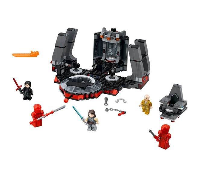 LEGO® Star Wars Sala tronului lui Snoke 75216 4