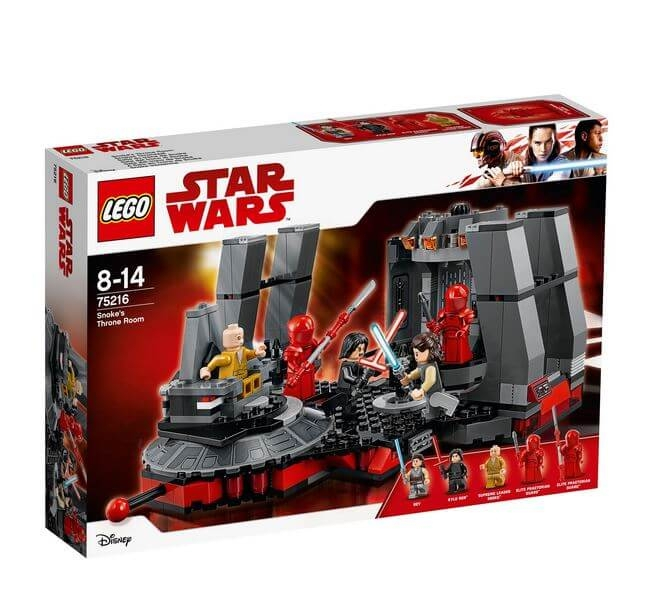 LEGO® Star Wars Sala tronului lui Snoke 75216 0