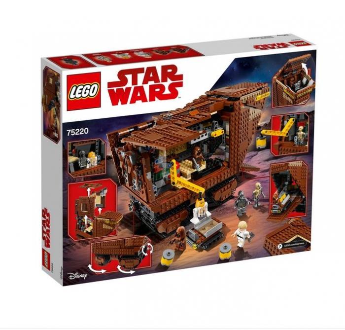 LEGO® Star Wars Sandcrawler 75220 3