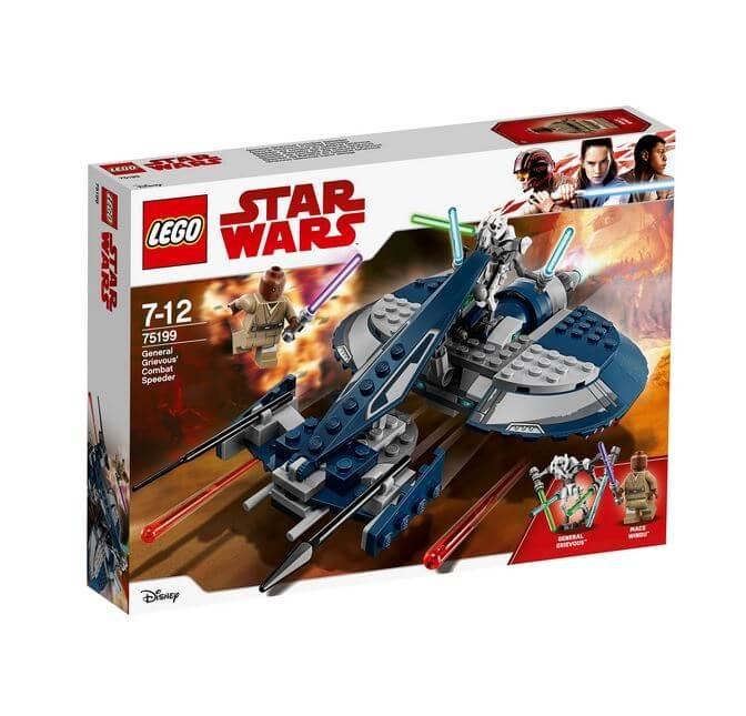 LEGO® Star Wars™ Speeder-ul de lupta al Generalului Grievous 75199 [0]