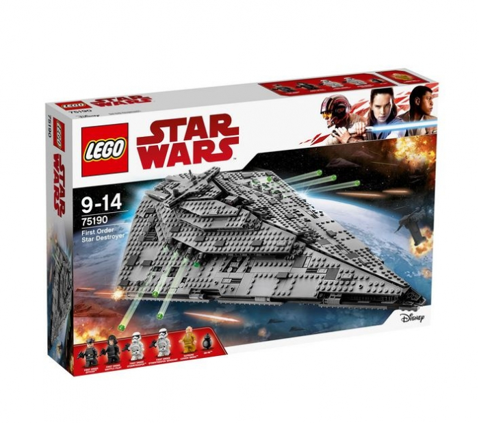LEGO® Star Wars™ Star Destroyer™ al Ordinului Intai 75190 0