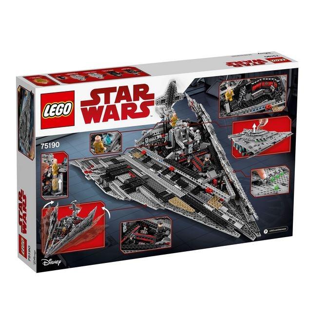 LEGO® Star Wars™ Star Destroyer™ al Ordinului Intai 75190 1