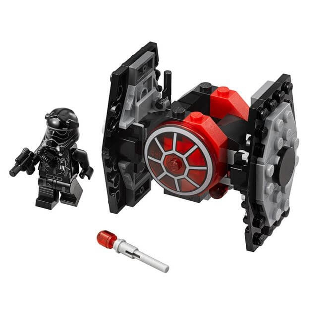 LEGO® Star Wars™ TIE Fighter™ al Ordinului Intai Microfighter 75194 2