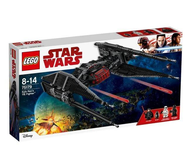 LEGO® Star Wars™ TIE Fighter™-ul lui Kylo Ren 75179 0