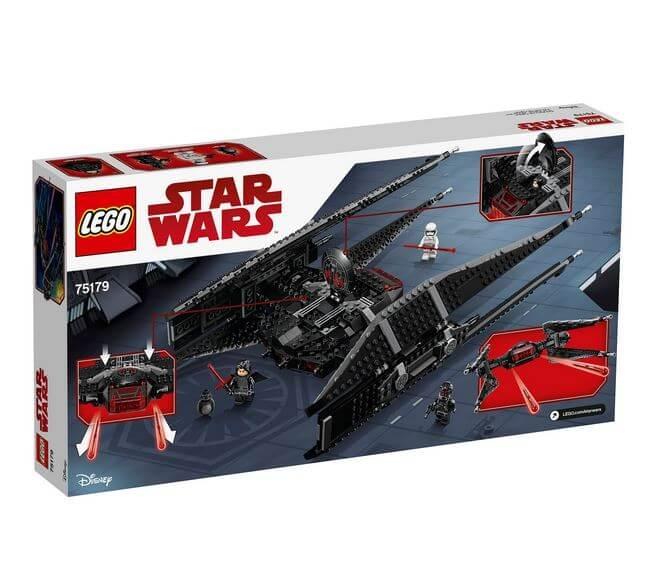 LEGO® Star Wars™ TIE Fighter™-ul lui Kylo Ren 75179 2