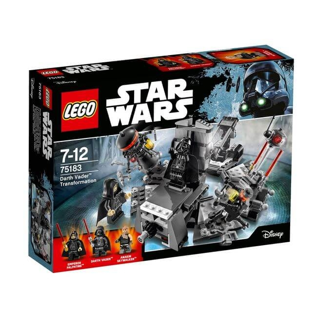 LEGO® Star Wars™ Transformarea Darth Vader™ 75183 0