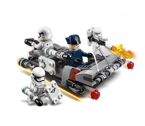 LEGO® Star Wars™ Transportor de viteza al Ordinului Intai 75166 3