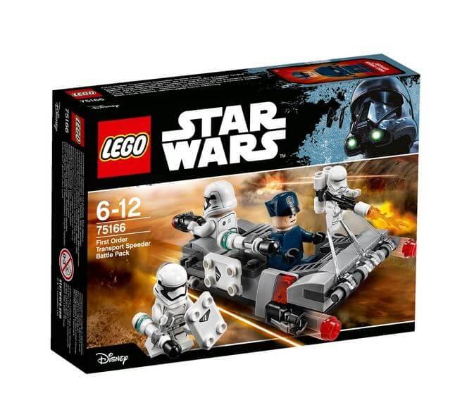 LEGO® Star Wars™ Transportor de viteza al Ordinului Intai 75166 0