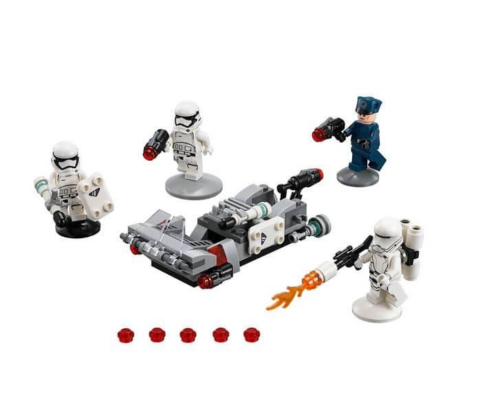 LEGO® Star Wars™ Transportor de viteza al Ordinului Intai 75166 4