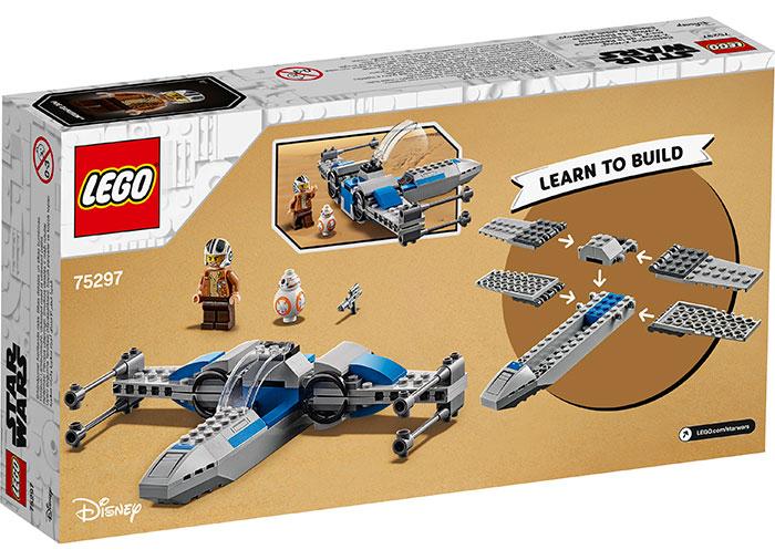 LEGO® Star Wars™: X-Wing™ al Rezistentei 75297 1