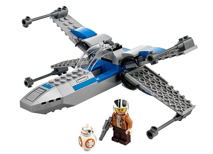 LEGO® Star Wars™: X-Wing™ al Rezistentei 75297 0
