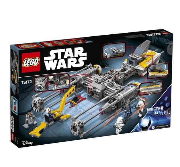 LEGO® Star Wars™ Y-Wing Starfighter™ 75172 1