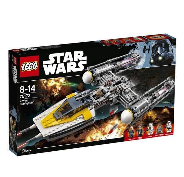 LEGO® Star Wars™ Yoda's Jedi Starfighter™ 75168 0