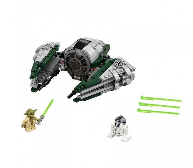 LEGO® Star Wars™ Yoda's Jedi Starfighter™ 75168 1