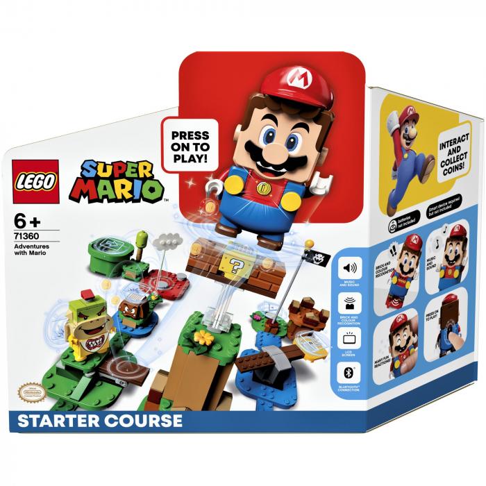 LEGO® Super Mario: Aventurile lui Mario - set de baza - 71360 0