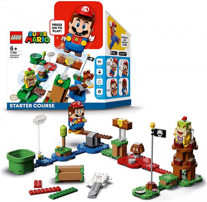 LEGO® Super Mario: Aventurile lui Mario - set de baza - 71360 1