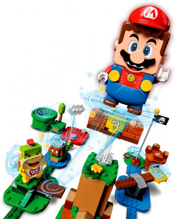 LEGO® Super Mario: Aventurile lui Mario - set de baza - 71360 2