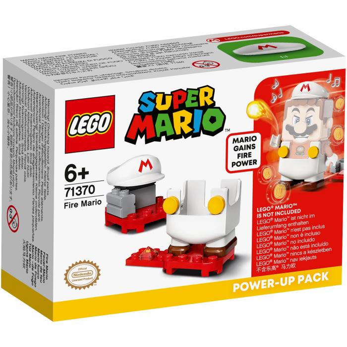 LEGO® Super Mario: Costum de puteri: Foc - 71370 0