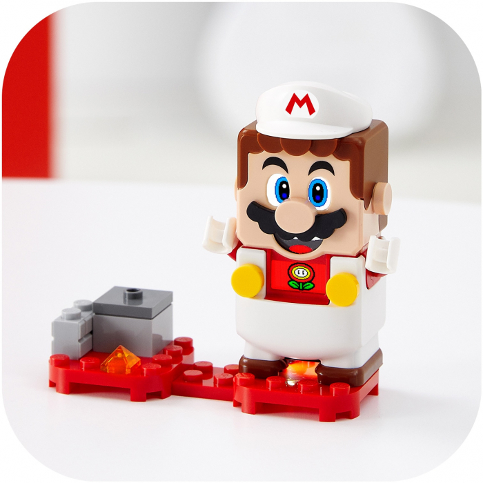 LEGO® Super Mario: Costum de puteri: Foc - 71370 3