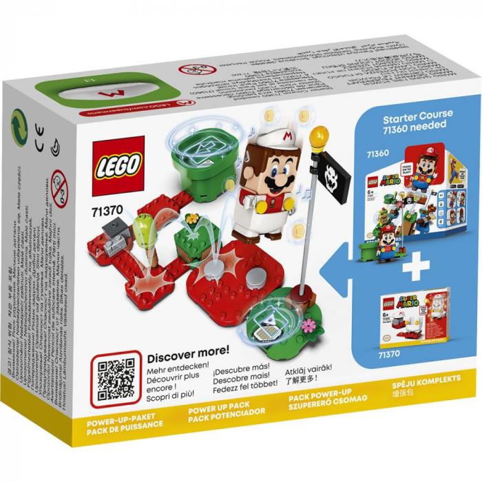 LEGO® Super Mario: Costum de puteri: Foc - 71370 1