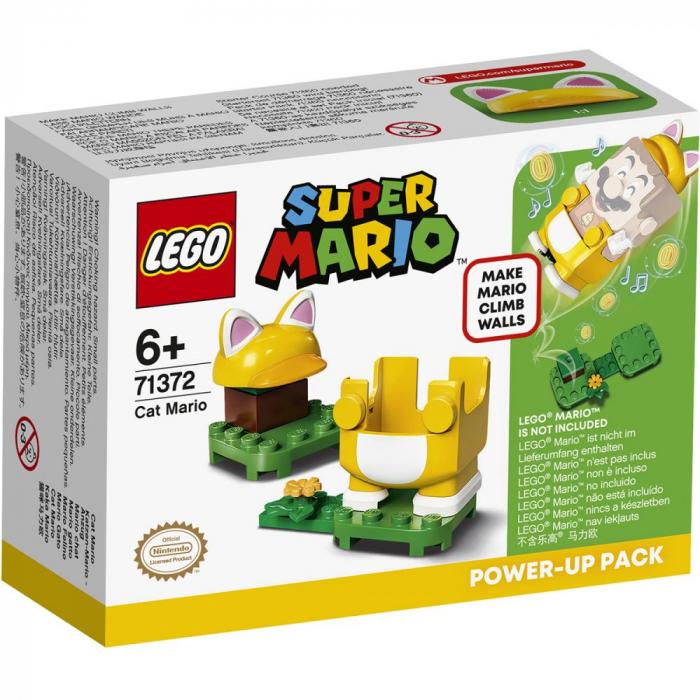 LEGO® Super Mario: Costum de puteri: Pisica - 71372 0