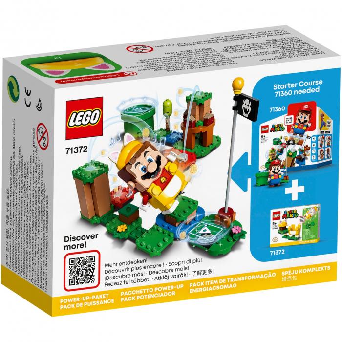 LEGO® Super Mario: Costum de puteri: Pisica - 71372 1