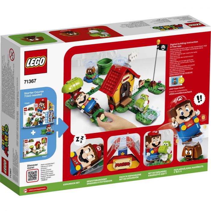 LEGO® Super Mario: Set de extindere Casa lui Mario si Yoshi - 71367 2