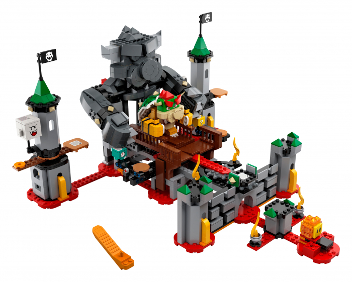 LEGO® Super Mario: set de extindere Castelul lui Bowser - 71369 1
