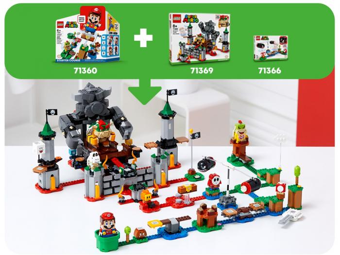 LEGO® Super Mario: set de extindere Castelul lui Bowser - 71369 2