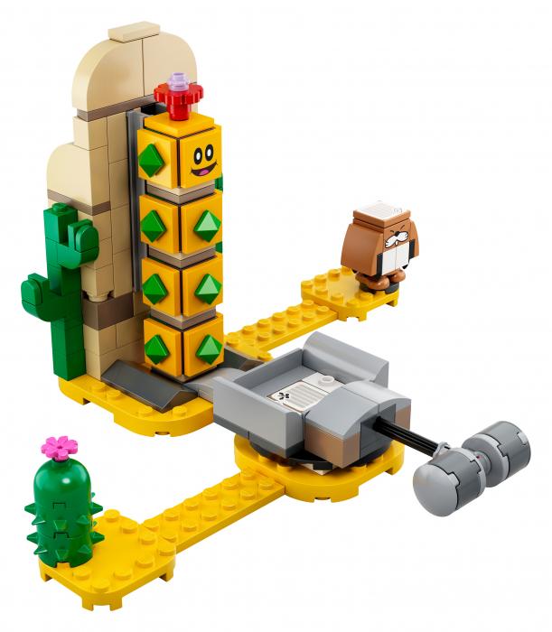 LEGO® Super Mario: Set de extindere Desert Pokey - 71363 1