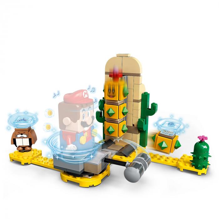 LEGO® Super Mario: Set de extindere Desert Pokey - 71363 2