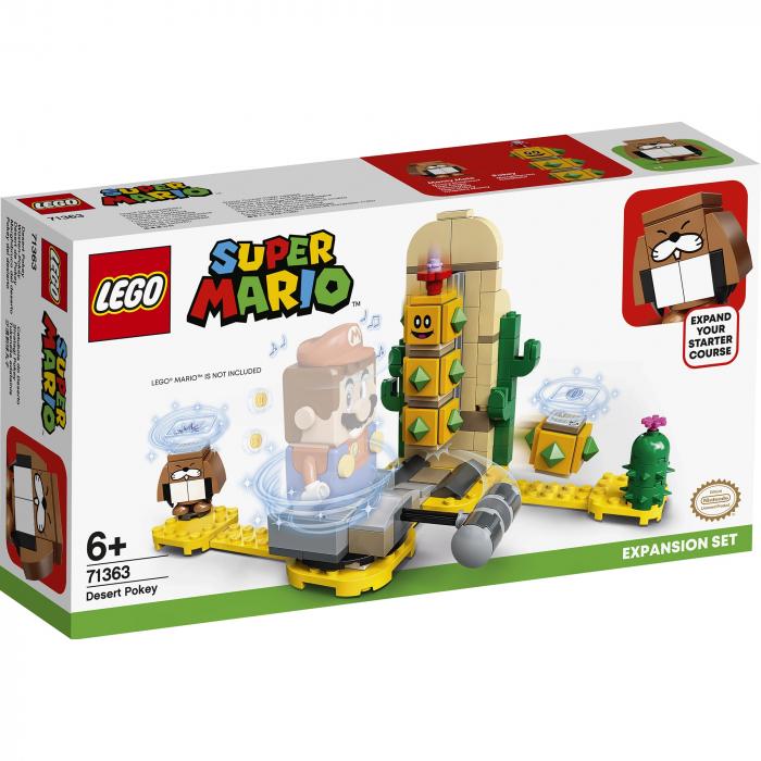 LEGO® Super Mario: Set de extindere Desert Pokey - 71363 0