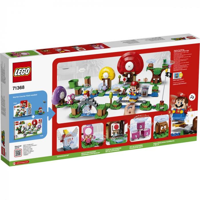 LEGO® Super Mario: Set de extindere Toad - 71368 2