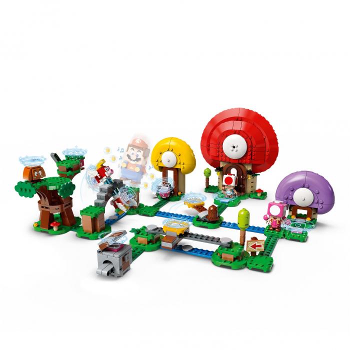 LEGO® Super Mario: Set de extindere Toad - 71368 1