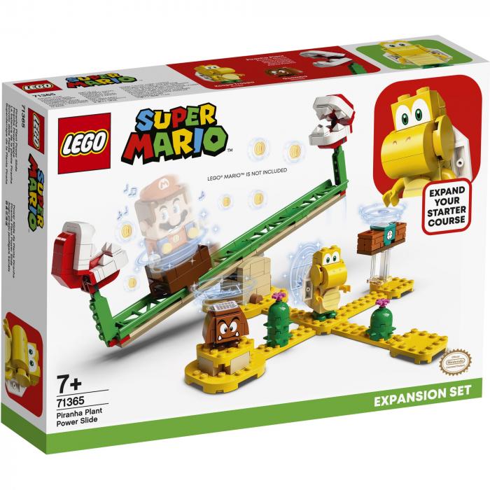 LEGO® Super Mario: Set de extindere Toboganul Plantei Piranha - 71365 0