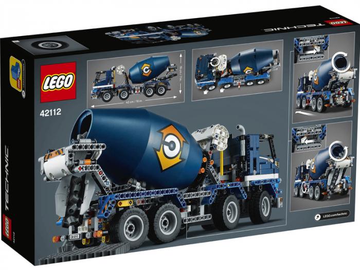 LEGO® Technic: Autobetoniera 42112 [1]