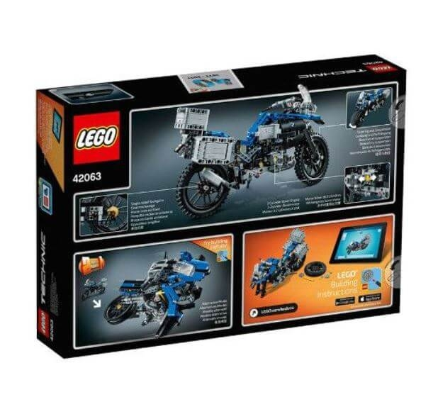 LEGO® Technic BMW R 1200 GS Adventure 42063 1
