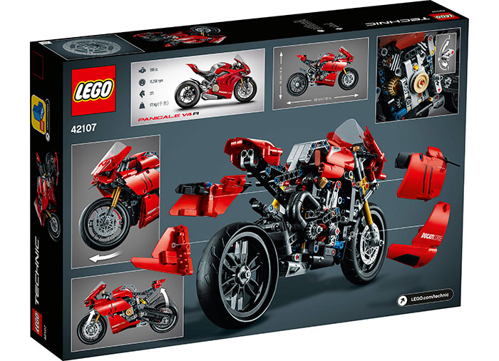 LEGO® Technic: Ducati Panigale V4 R 42107 [1]