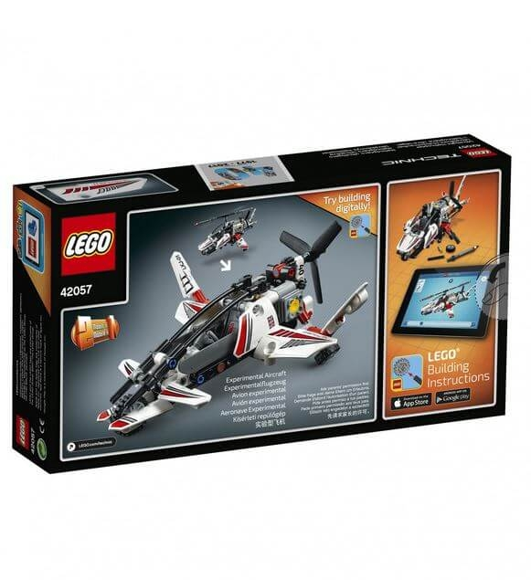 LEGO® Technic Elicopter ultrausor 42057 2