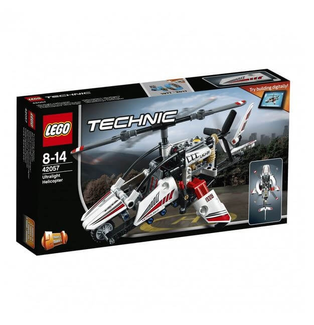 LEGO® Technic Elicopter ultrausor 42057 0