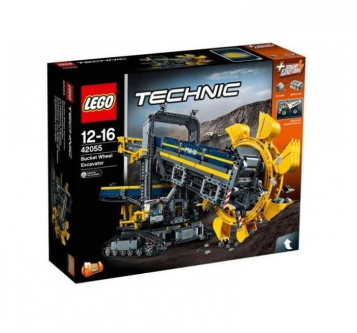 LEGO® Technic Excavator cu roata port cupe 42055 0