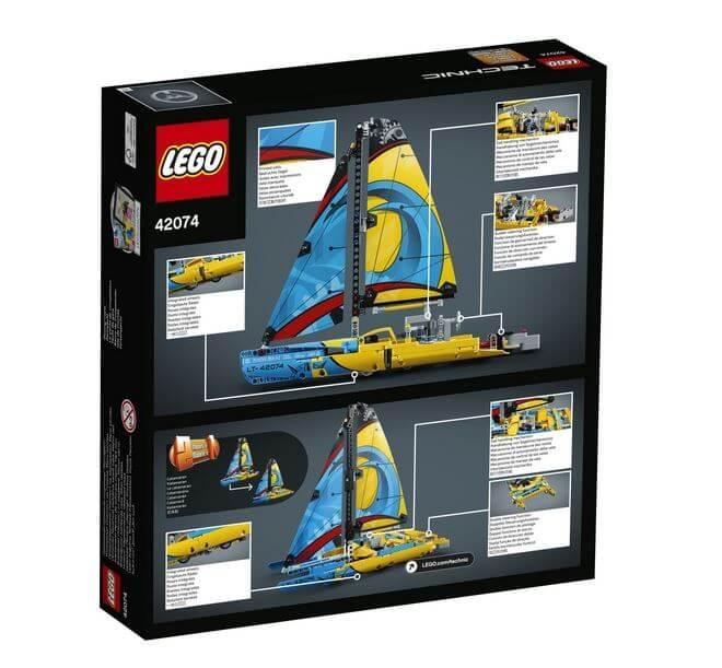 LEGO® Technic Iaht de curse 42074 1