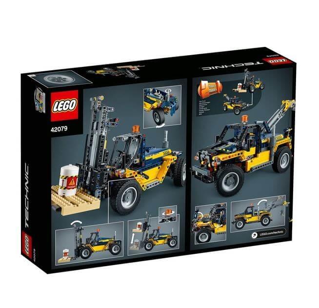LEGO® Technic Stivuitor greu 42079 6