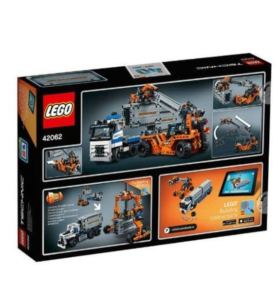 LEGO® Technic Transportoare de containere 42062 1