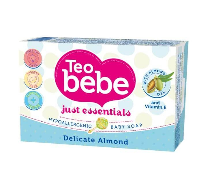 Sapun Solid Teo Bebe Delicate Almond, 75 gr 0