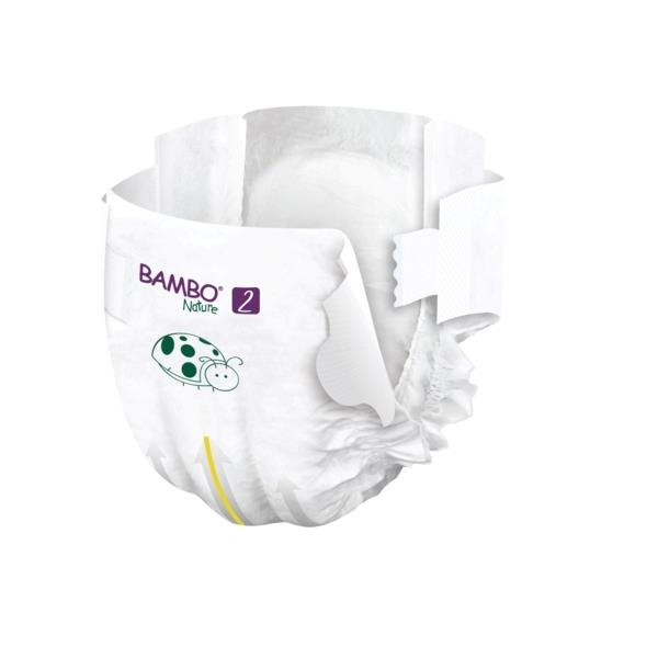 Scutece Bambo Nature, Eco-Friendly, nr2, 3-6 kg, 30 buc 3