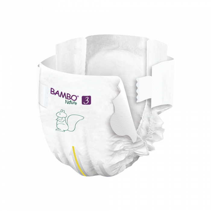 Scutece Bambo Nature, Eco-Friendly, nr3, 4-8 kg, 52 buc 2
