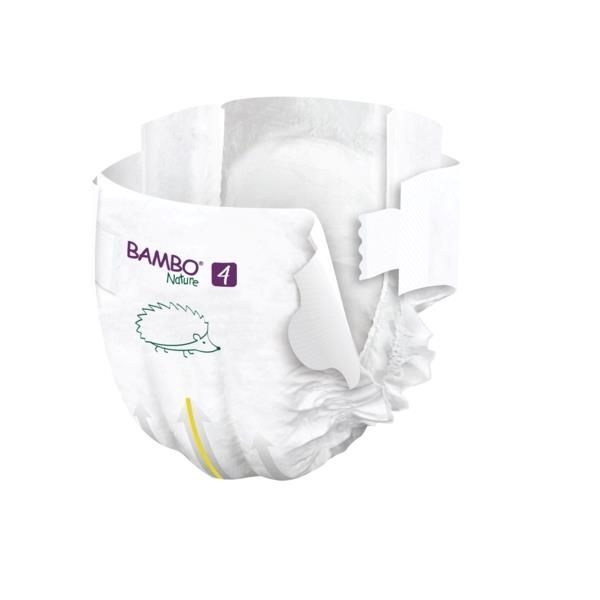 Scutece Bambo Nature, Eco-Friendly, nr4, 7-14 kg, 24 buc 3