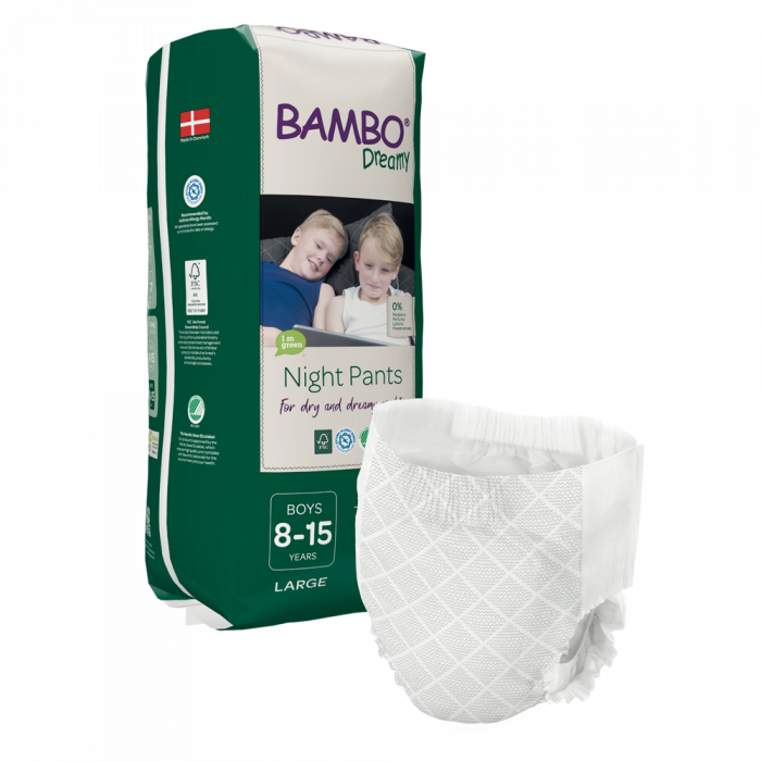 Scutece Chilotel Bambo Dreamy Night Boy, 8-15 ani, 35-50 kg, 10 buc 1