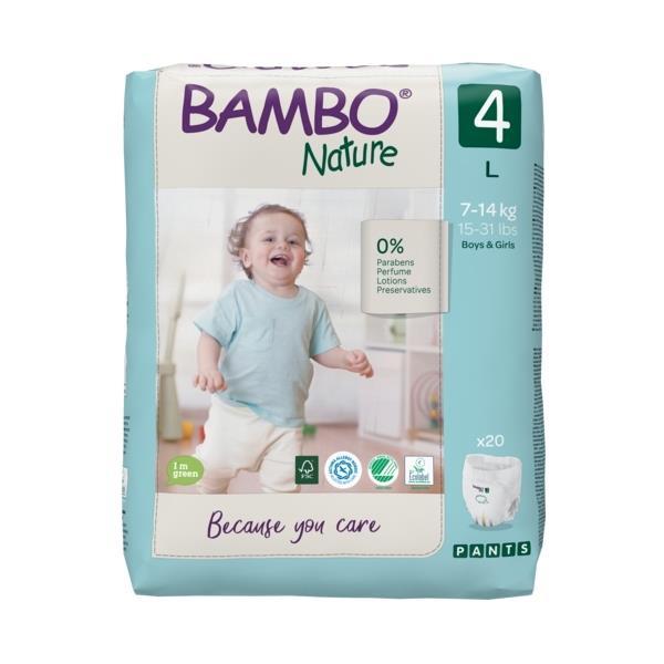 Scutece Chilotel Bambo Nature Eco-Friendly, nr4, 7-14 kg, 20buc 1